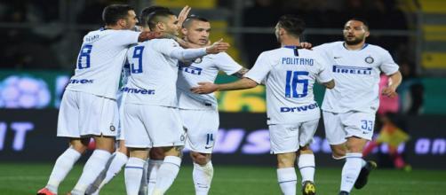 L'Inter espugna Frosinone e consolida il terzo posto