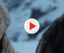 Jon Snow and Daenerys Targaryen rode the dragons together. Photo: screencap via GameofThrones/ YouTube
