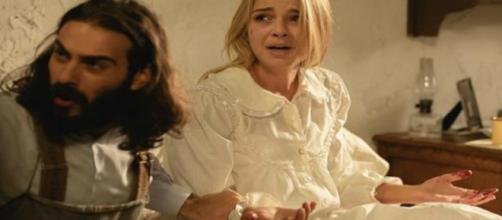 Anticipazioni Il Segreto: l'aborto di Antolina, Isaac accusa e disprezza Elsa