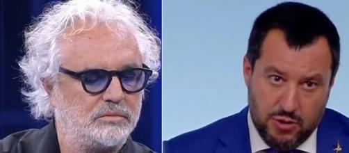 Flavio Briatore loda Matteo Salvini sulla questione immigrazione