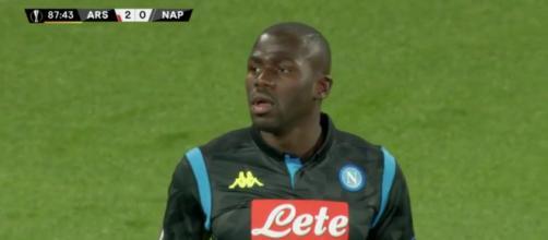 Kalidou Koulibaly, difensore del Napoli