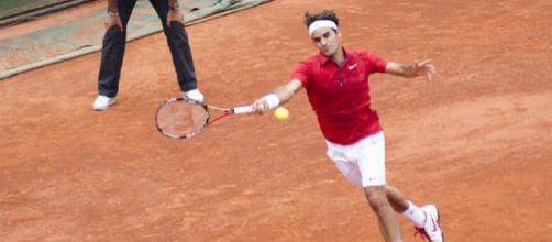 Roger Federer, quattro volte finalista e mai vincitore al Masters di Montecarlo