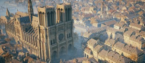 Un incendio è divampato a Parigi