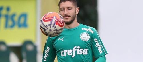 Zé Rafael mostrou boa capacidade de recuperação depois do pênalti perdido. (Divulgação/ Cesar Greco/ Ag Palmeiras)
