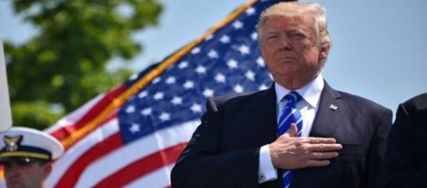Donald Trump calls for investigators to be investigated ahead of Mueller report - Image credit - Patrick Kelley | Coastguard
