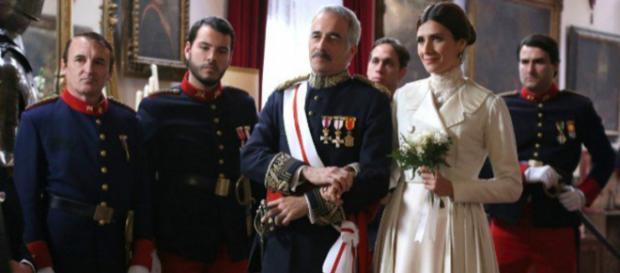 Una Vita, anticipazioni: il generale Zavala sposa Silvia Reyes.