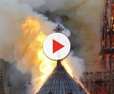 Incêndio na catedral de Notre-Dame, Paris. (Arquivo Blasting News)
