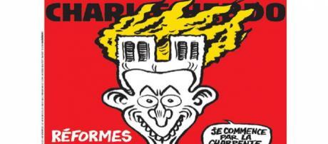 Parigi, la vignetta satirica di Charlie Hebdo indigna tutti: insulti dagli italiani
