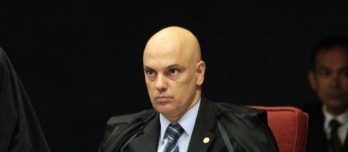 Alexandre de Moraes causa polêmica com censura a site e revista. (Carlos Moura/SCO/TSF)