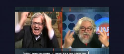 Furioso scontro su Notre-Dame tra Vittorio Sgarbi e Alessandro Meluzzi