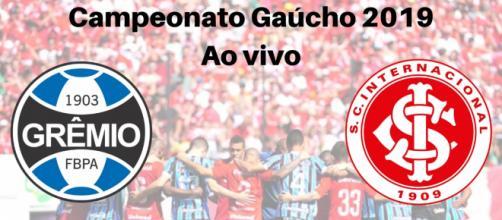 Grêmio x Internacional ao vivo na RBS TV, filiada a Rede Globo. (Reprodução/ Gabriel Alves)