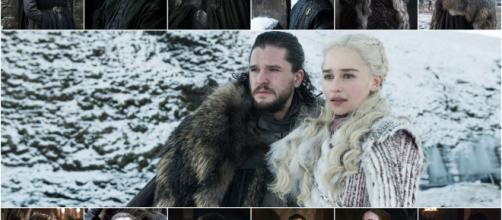 Jon Snow y Daenerys Targaryen, protagonistas de Game of Thrones