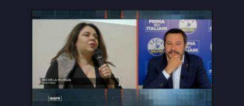 Michela Murgia fa infuriare Nicola Porro, il commento di Matteo Salvini