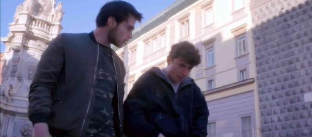 Mimmo (Antonio Fattorusso) e Maurizio (Andrea Galasso)