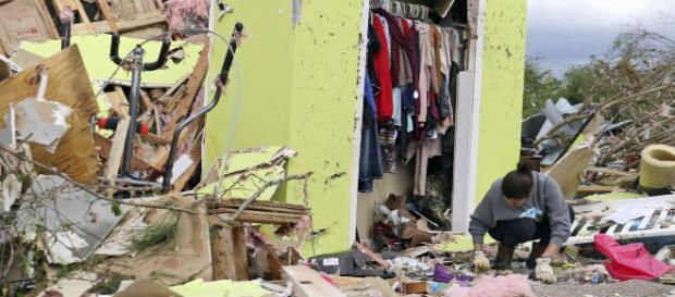 Tormentas en el sur de EEUU provocaron grandes daños materiales.