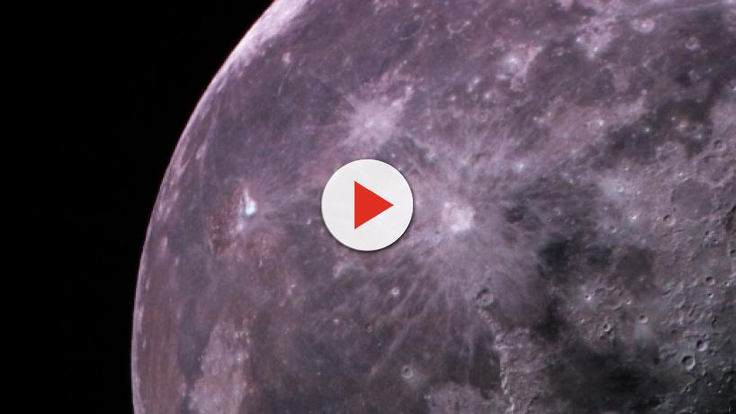 NASA's historical discovery, water from the meteor shower on the moon