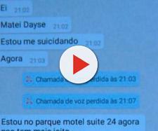 Homem mata a esposa e manda mensagem para o irmão. (Reprodução/TV Paraíba)