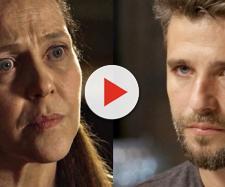 Judith colocará Gabriel para dormir. (Divulgação/Rede Globo)