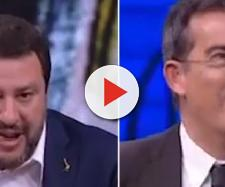 Floris replica a Salvini in tv: 'Delinquenti? Un po' come quando ti votano' (VIDEO)
