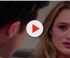 Summer fights for her marriage to Kyle.(Image Source: Soaphub- spoilersYouTube.)