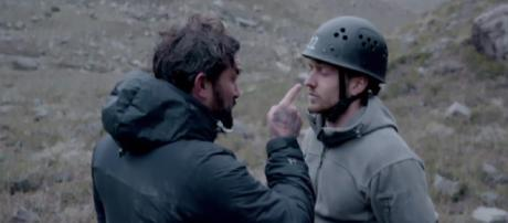 Ant Middleton unhappy with Made In Chelsea's Sam Thompson's joker ways (Image credit: SAS:Who Dares Wins/4OD)