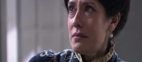 Anticipazioni Una Vita: Rosina scopre che il marito Liberto ha baciato Flora