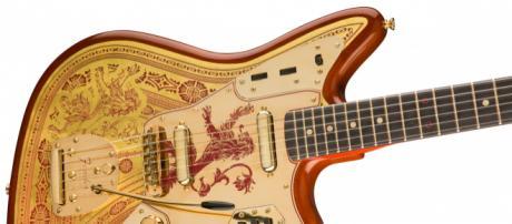 Fender, le nuove chitarre ispirate al Trono di Spade