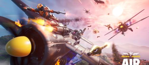 Fortnite's latest update adds Air Royale LTM. [Image credits: Epic Games]