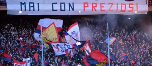 Genoa, clima teso nei confronti del patron Preziosi