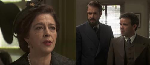 Il Segreto anticipazioni: Severo e Carmelo scoprono che Donna Francisca è viva
