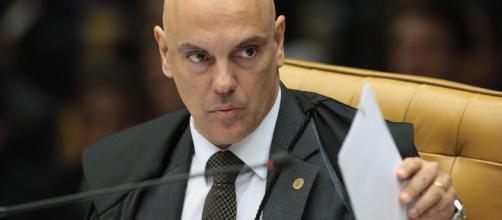 Ministro Alexandre de Moraes ordena bloqueio de redes sociais. (Arquivo Blasting News)