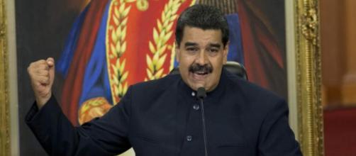 Senador brasileiro encontra Nicolás Maduro. (Arquivo Blasting News)