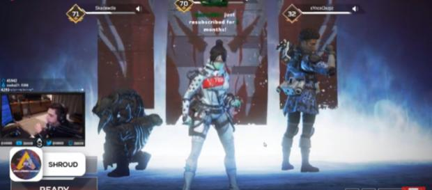 He has grown tired of it. [Image source: Apex Legends Fantasy/YouTube]