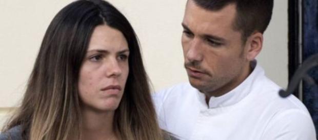 Laura Matamoros y Benji Aparicio en imagen