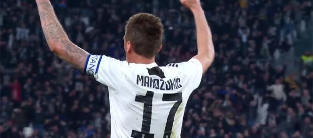 Mario Mandžukić, attaccante della Juventus