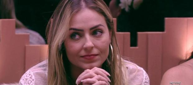 Paula, do 'BBB19'. (Reprodução/TV Globo)