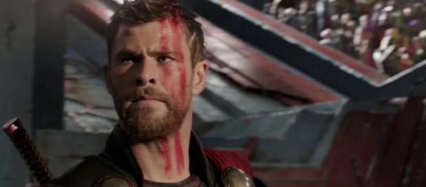 Thor in Thor Ragnarok - image credit via Red Robot King 7/YouTube Screencap
