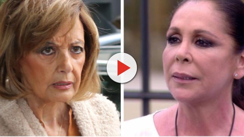 Mª Teresa Campos responde indignada sobre Isabel Pantoja: 'A mí que me importa lo que haga'