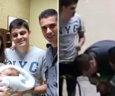 Cabos salvam bebê de 21 dias que estava engasgado. (Reprodução/TV TEM/Arquivo PM Marília)