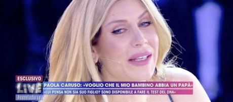 Paola Caruso ritrova la vera mamma