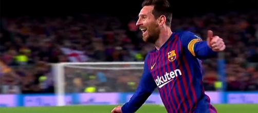 Lionel Messi, autore di 10 goal in Champions League