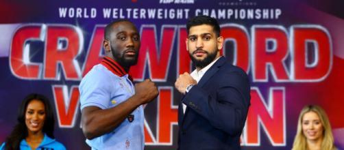 Terence Crawford vs Amir Khan, nella notte tra sabato e domenica il mondiale dei pesi welter