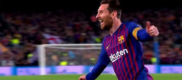 Lionel Messi, autore di 10 goal in Champions League