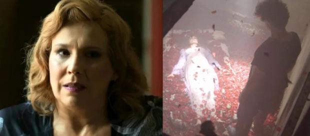 Milu morta e Ondina suspeita. (Fotomontagem/TV Globo)