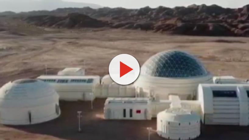 China recreates a Martian environment in the Gobi desert for tourism