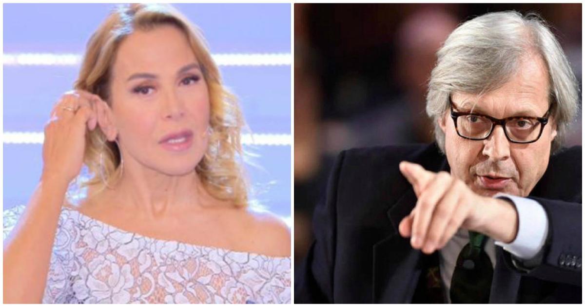 Vittorio Sgarbi contro Caterina Collovati: 'Vecchia befana'
