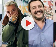 Fabri Fibra, Salmo, Matteo Salvini e Sfera Ebbasta.