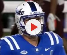 The Patriots could take Duke's Daniel Jones in the first round. - [Stadium / YouTube screencap