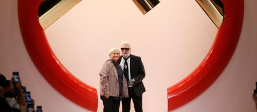 Karl Lagerfeld et Silvia Fendi