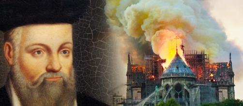 L'incendio di Notre-Dame e Nostradamus.